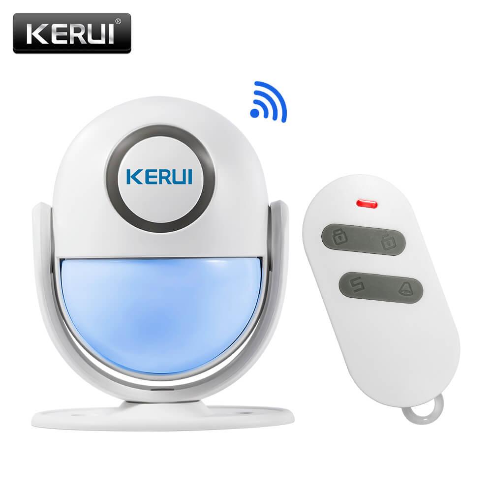 Motion Detector Alarm >> Kerui Wp6 Wifi App Control Pir Motion Detector Alarm Nirapadshop